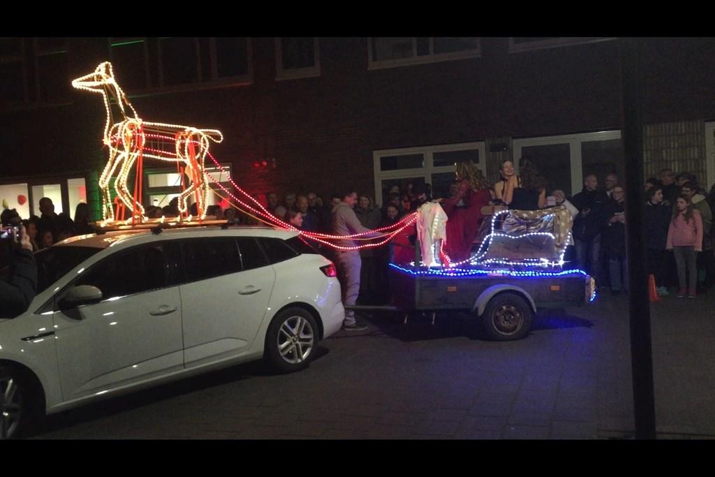 De winnaar met origineelste voertuig Foto: Yeb Heerema © Persgroep