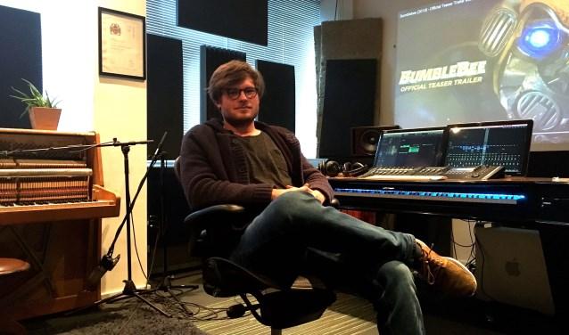 Componist Jochem Weierink combineerde de muziek onder de trailer van de nieuwe transformersfilm Bumblebee. Foto: S. ten Houte de Lange