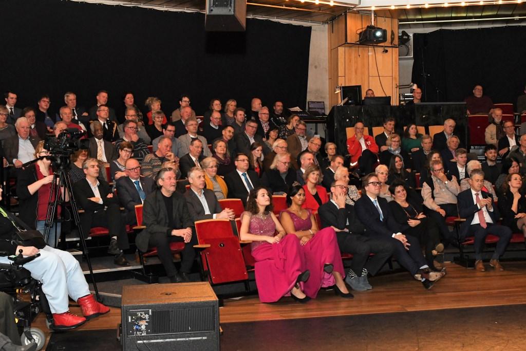 Een volle zaal tijdens de toespraak. Foto: gemeente Ede © Persgroep