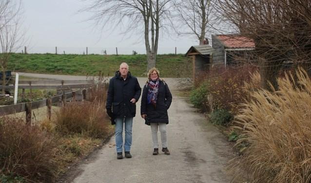 Wandelaars op de Peerdegaerdt