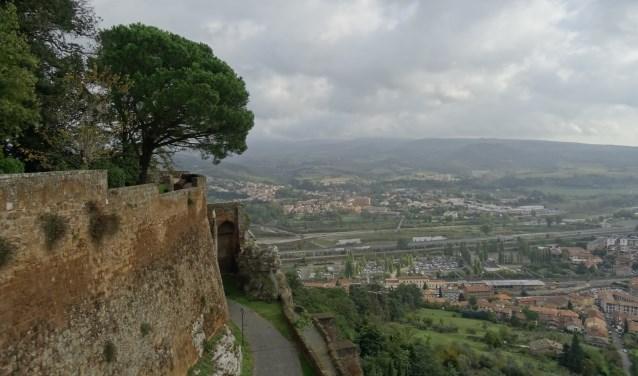 Onderweg in Italië.