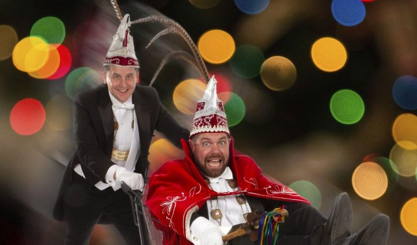 Prins Erik en adjudant Jan van De Keieschieters houden op 2 februari receptie.