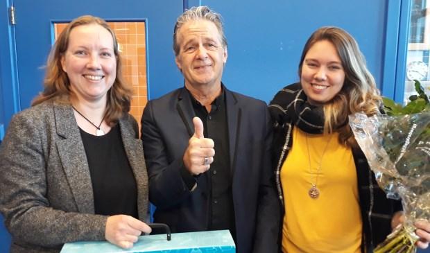 Team-HPC Centrum:  J. Visser en J. Jansen, met in het midden LMCbestuurder R. Elgershuizen