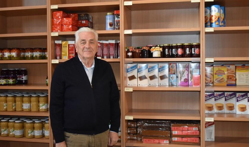 """Henk Weiden is vanaf het begin bij de Stichting BOWIE betrokken. """"Het is een doel dat mensen aanspreekt: het is dichtbij en gaat om mede-inwoners."""" Foto: Jolien van Gaalen."""