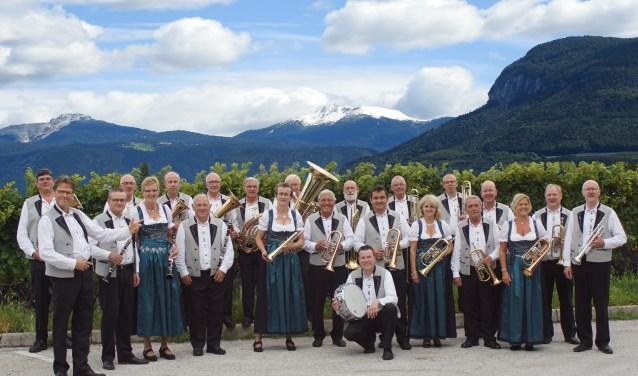 De Isseltaler Musikanten uit Rheden geven aankomend weekend een nieuwjaarsconcert in De Meent in Angerlo. (foto: Paul Schouten)