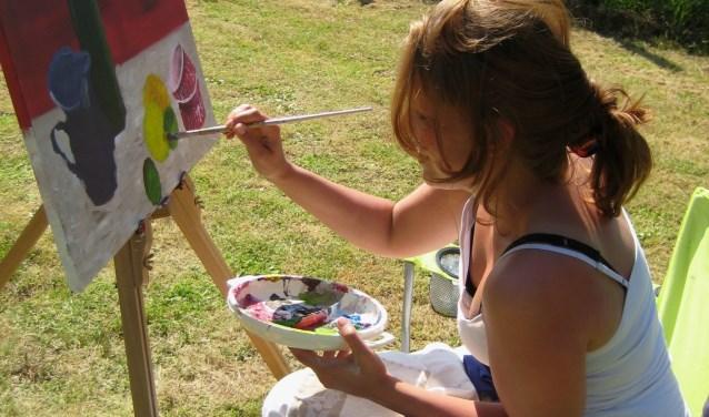 Ook dit jaar worden er weer schilderweken aangeboden. (Foto: Privé)