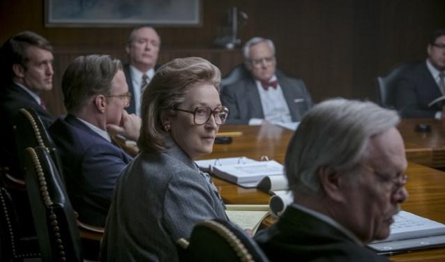 Meryl Streep schittert in The Post, woensdag te zien in Filmhuis Denekamp.