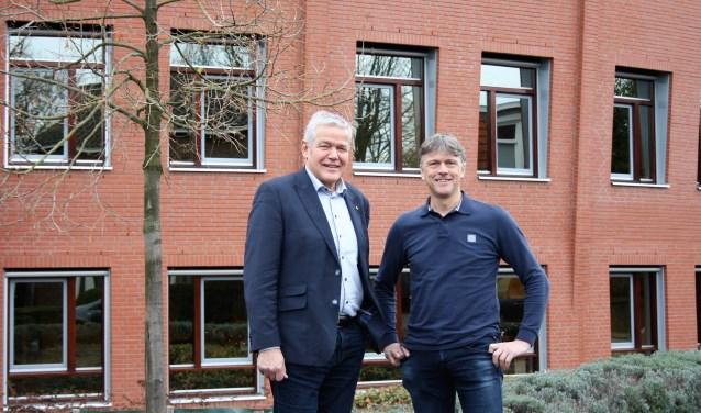 Gerard Stoffels en Stephan Müskensvan ABC maken zich grote zorgen om de herindeling. (foto: Ingrid Janshen-Artz)