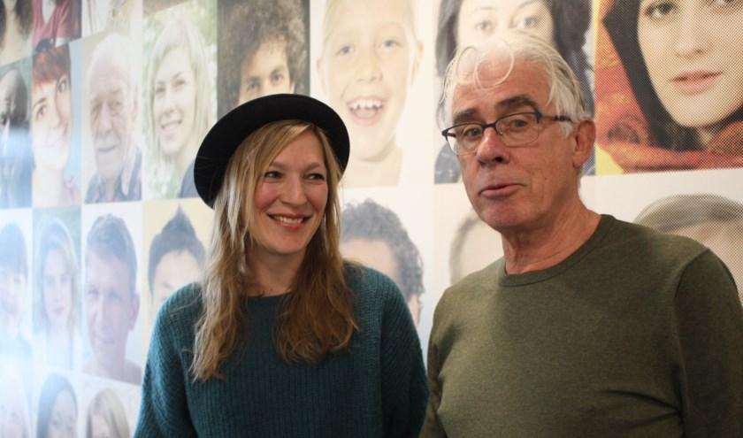 Maartje van den Bosch en Chris Kuijper maken als als coördinator en vrijwilliger deel uit van Maatje040.