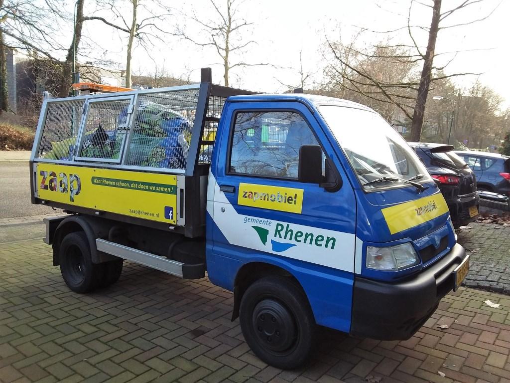 De Zaap-auto.  © Persgroep