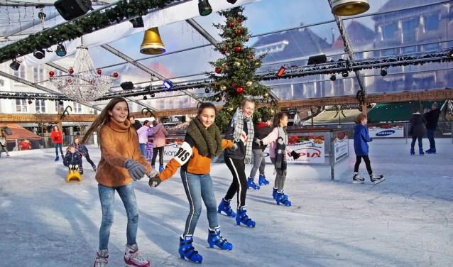 De drie West-Brabantse ijsbanen hebben stuk voor stuk een topjaar gedraaid met meer bezoekers dan andere jaren. Foto: Sonn Franken.