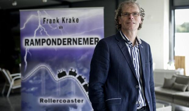 Franke Krake (foto) wordt door Eddy van der Ley aan de tijd gevoeld over met name zijn boek De Rampenondernemer.