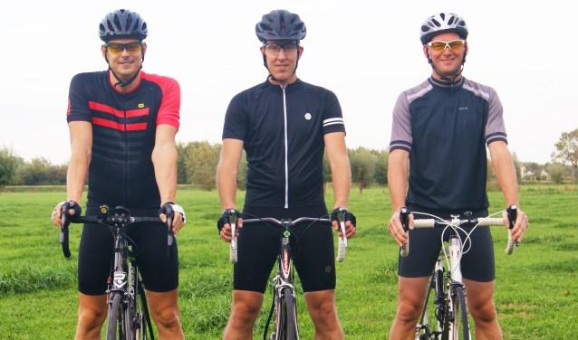 Achter Team Waspik gaan drie vrienden uit Waspik schuil: Jan Wagemakers, Nico de Cloe en Stefan Montens.