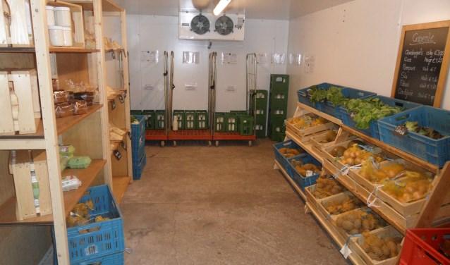 De winkel is een ultieme zelfbedieningswinkel, want klanten krijgen een sleutel van de winkel en kunnen zelf de deur openen.