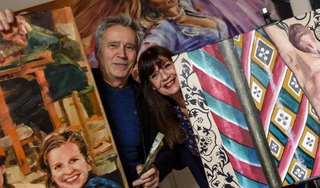 Thea Bijl en Fried Waterschoot exposeren vanaf 26 januari in Galerie Kunstation in Uden.