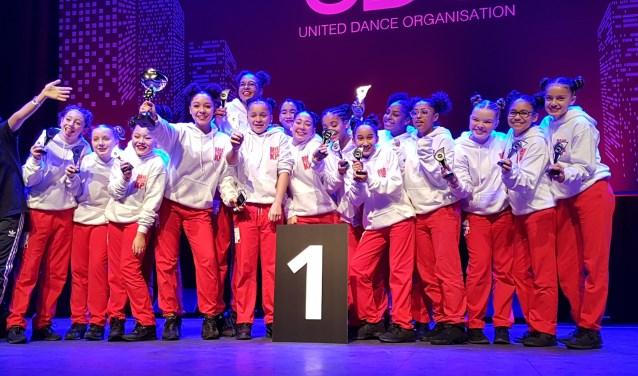 The Big Bang wint eerste prijs op UDO streetdance Tilburg