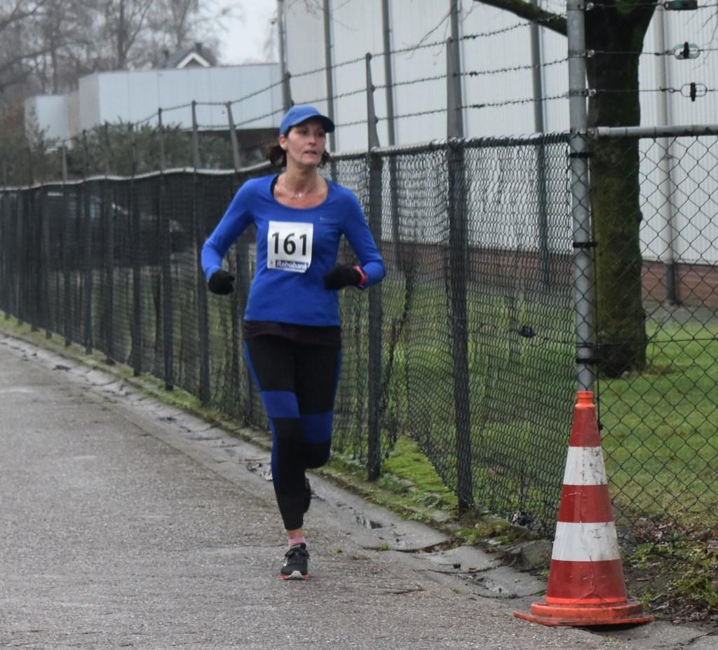 Met een tijd van 51.01 is Anita Pieper uit Rijssen tweede geworden. Foto:  © Persgroep