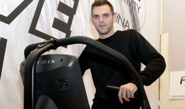 Na alle tegenslagen vindt Dennis Versluis de tijd nu rijp om te strijden naar fysiek herstel. (foto Auke Pluim)