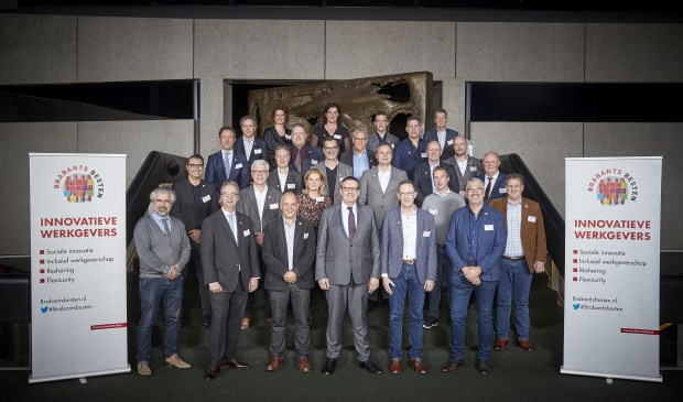 'Brabantse Beste' bijeen. Zij vertegenwoordigen dit jaar als ambassadeurs 'goed ondernemerschap' binnen de provincie Brabant.