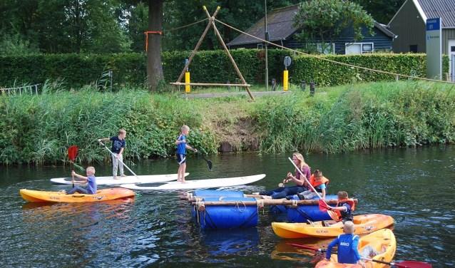 Beleving en waterpret zijn nu de doelen voor het gebruik van het Apeldoorns kanaal.