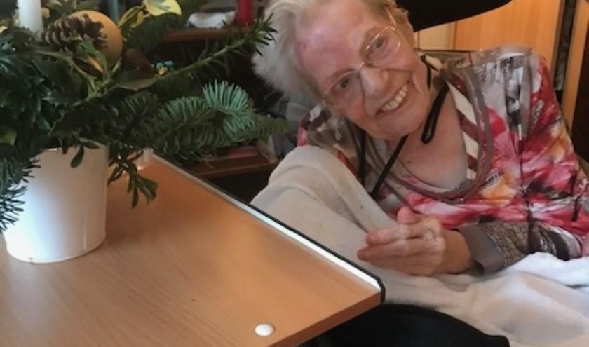 De bewoners van De Elf Ranken waren blij verrast met de geste van Jolanda (Foto: PR)