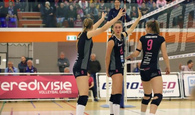 Team Eurosped wil zich graag plaatsen voor Europees volleybal, zegt voorzitter Marcel Jansink. Foto: Berto de Jong