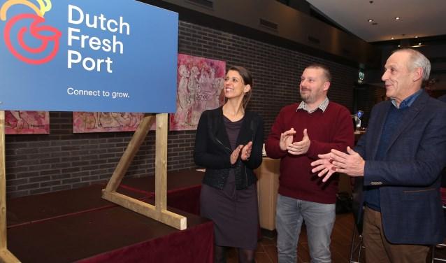 Presentatie nieuwe merkstrategie reijerwaard, Dutch Fresh Port (Foto: Rob Kamminga)
