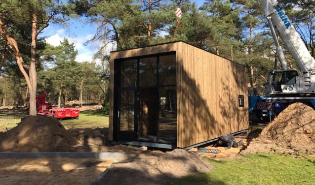 Voorbeeld van een tiny house, ter illustratie.