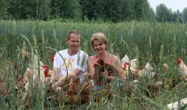 Chris en Marjanne Borren willen het landschap herstellen en waar mogelijk verdwenen landschapselementen terug brengen.