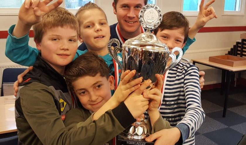 De Alexanderschool werd in 2018 glorieus kampioen.