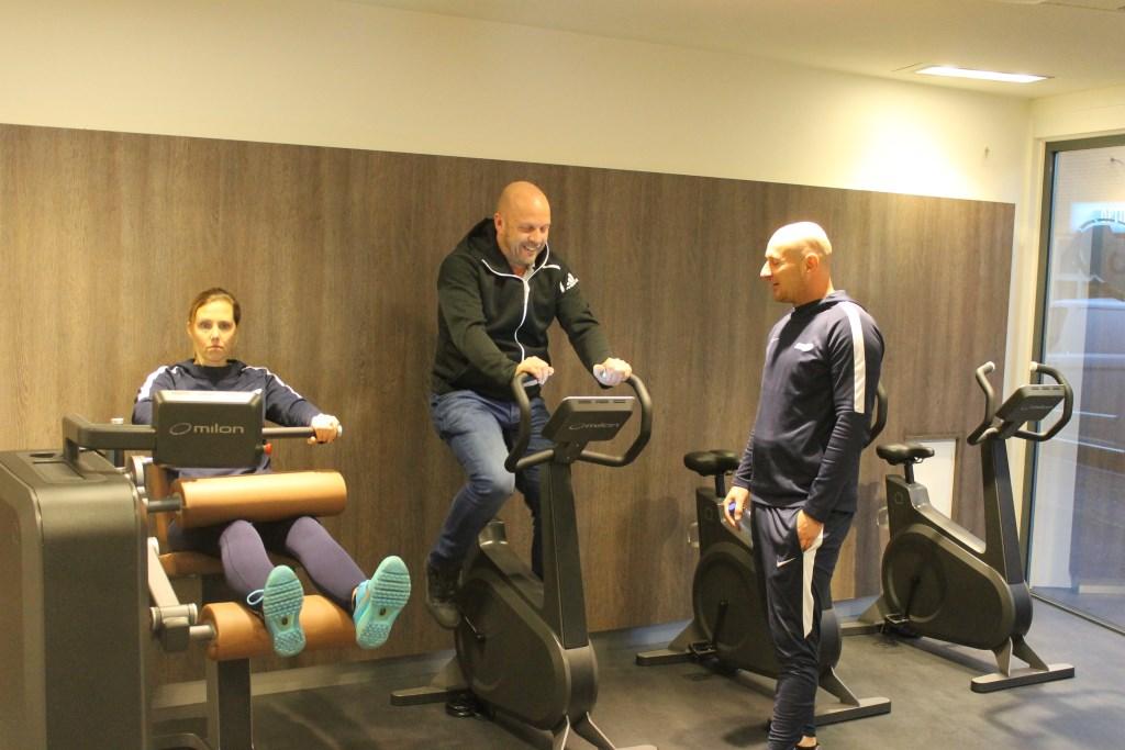 In Aalten kan men nu fitnessen met de beste begeleiding en persoonlijke aandacht.  Foto: Leo van der Linde © Persgroep
