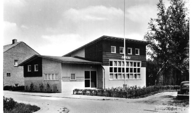 Het gebouw in 1968.