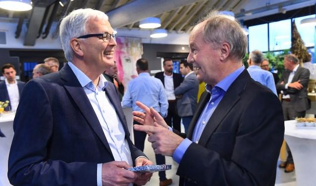 Harry Kuypers van Wonion (links) en Claus Martinot van Sité (rechts). (foto: Roel Kleinpenning)
