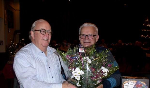 Koos Dorreman (rechts op de foto)