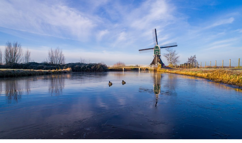 De Achterlandse Molen in Groot-Ammers. Foto: Cees van der Wal