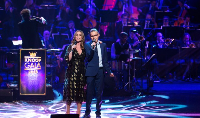 Heel Nederland had het erover: het prachtige optreden van de verstandelijke beperkte Yannick met Trijntje Oosterhuis. foto: Frank Ebbe