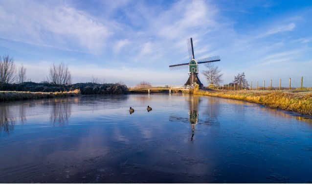Achterlandse Molen, Groot-Ammers. (Foto: Cees van der Wal)