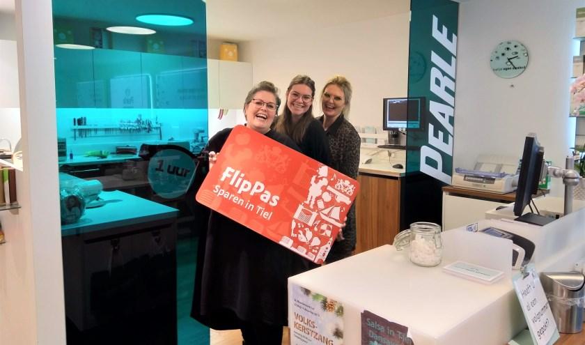 Pearle Opticiens is nu ook FlipPas-deelnemer. (Foto: Janet Kooren)