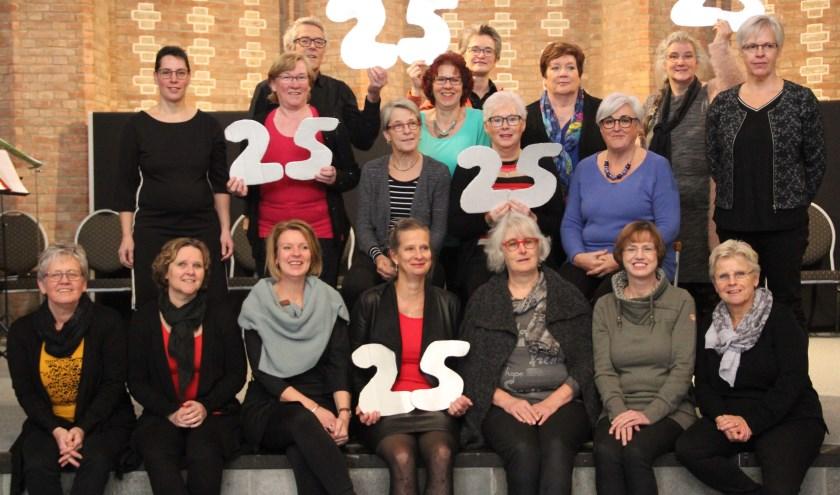 Vocaal Ensemble Vivace, bijna 25