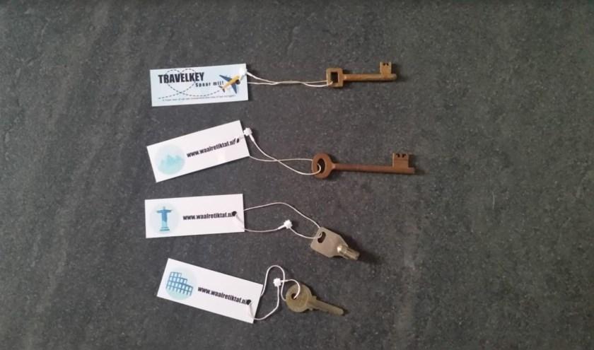 Mysterieuze sleutels duiken overal op in Waalre