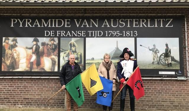 Alles wordt tot in de puntjes geregeld door vrijwilligers zoals Guus Wateler, Hennie Heuff en Gert Lamers (v.l.n.r.)