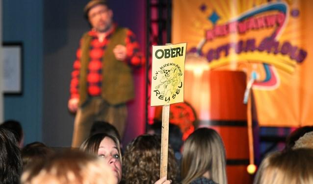 foto: Sterrenshow in het teken van de ober en tonpraters (foto Jan Wijten)