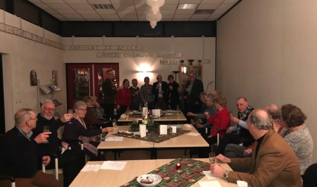 proosten op 2019 in Antoniushuis De Vinder