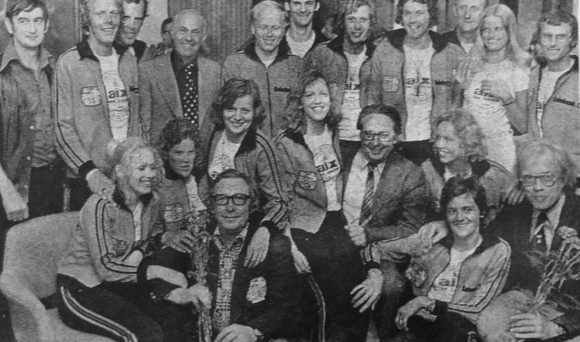 De meeste Montfoortse deelnemers aan Spel zonder Grenzen deden ook al mee aan Zeskamp van de NCRV. Een reünie na 45 jaar behoort tot de mogelijkheden (Foto: de Jong)