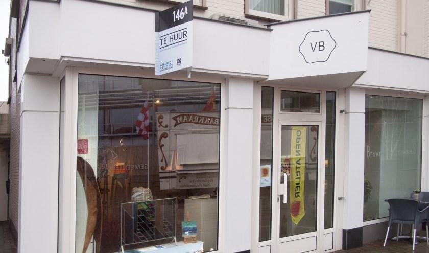 Pop-upgalerie Kunstkolk in centrum Boxmeer.
