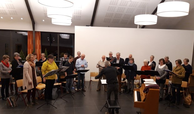 Vocaal Ensemble Cantica. Eigen foto