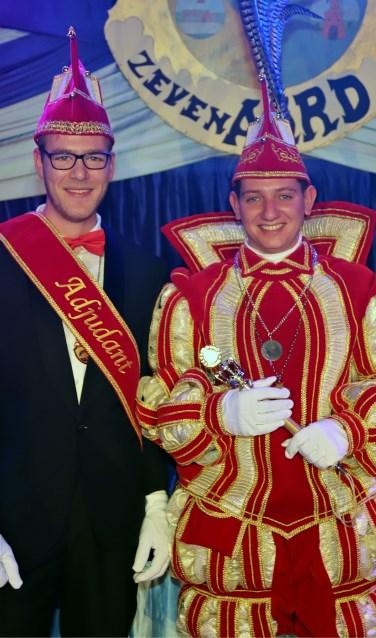 Adjudant Hent Dukkerhof en Prins Daan den erste Derksen