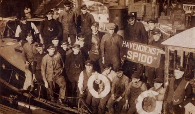Spido personeel ca. 1920 (Foto: Ben Duiker)