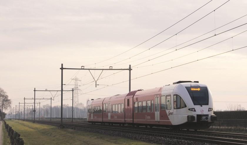 Eind 2019 rijden de eerste treinen over het extra spoor op de treindienst Arnhem- Winterwijk.