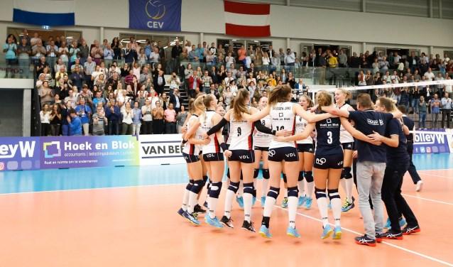Sliedrecht Sport treedt op 22 januari weer in de Europa Cup aan. (Foto: Pim Waslander)